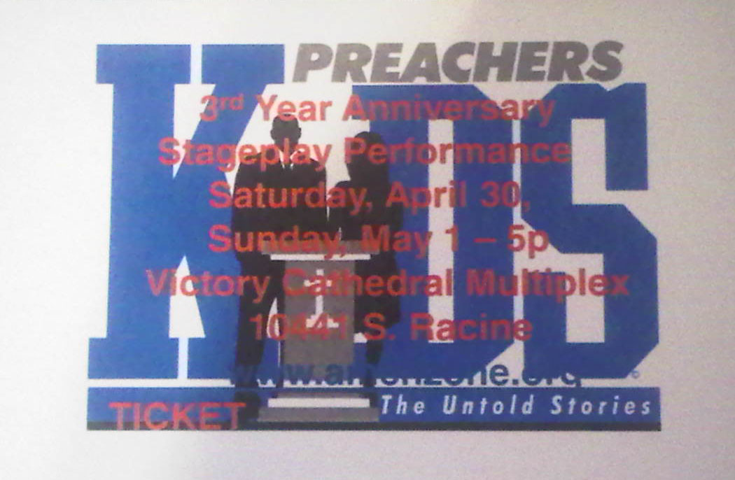 TICKETS: Preachers Kids: The Untold Stories